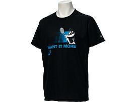 送料無料 <ASICS/アシックス> Tシャツ ブラック_XL6182