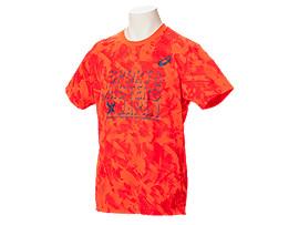 総柄Tシャツ, フラッシュコーラル