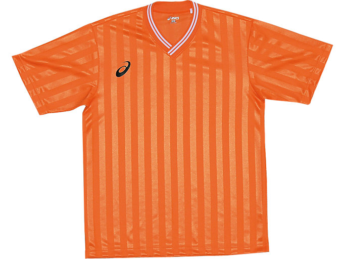 ゲームシャツ ハーフスリーブ, オレンジ