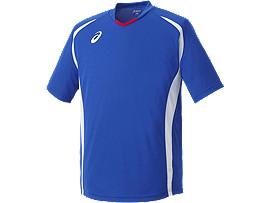 ゲームシャツ ハーフスリーブ, ブルー