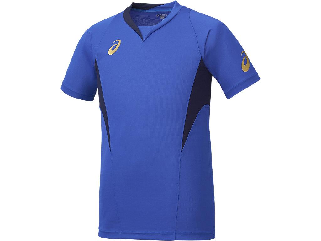ゲームシャツHS:ブルー