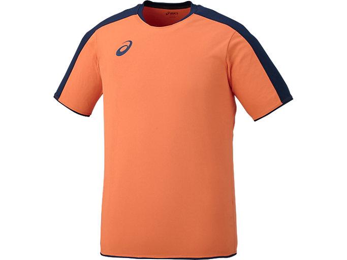 Alternative image view of ゲームシャツHS, ネオンオレンジ