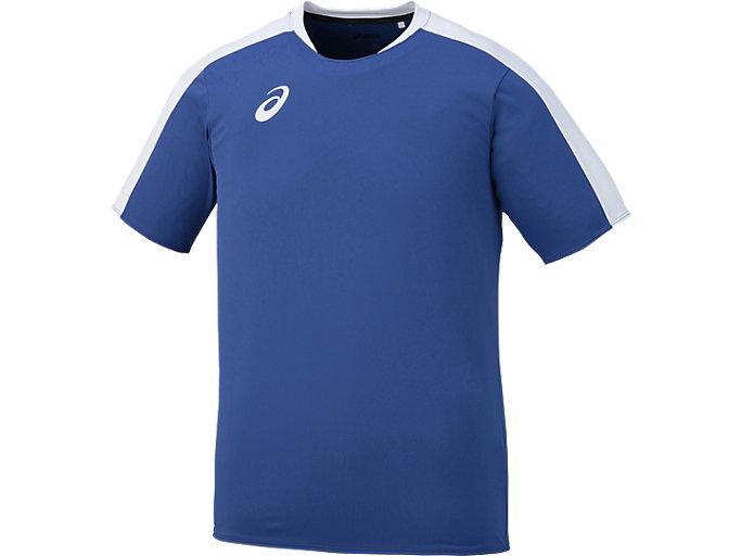Alternative image view of ゲームシャツHS, ブルー