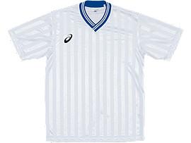 Jr.ゲームシャツHS, ホワイトxブルー