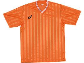 ジュニア ゲームシャツ ハーフスリーブ, オレンジ