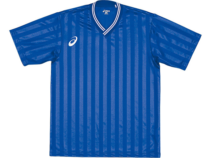 ジュニア ゲームシャツ ハーフスリーブ, ブルー