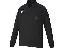 レフリーシャツLS, ブラック