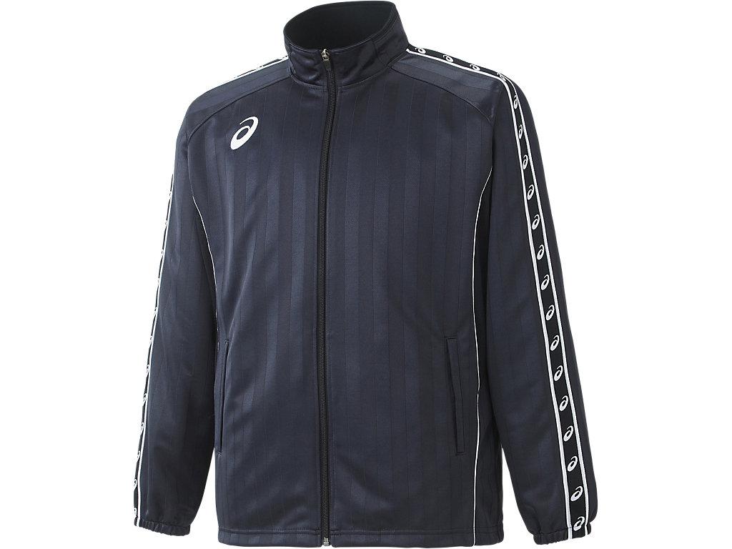 ウオームアップジャケット:ブラック