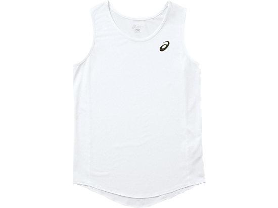 W'Sランニングシャツ, ホワイト