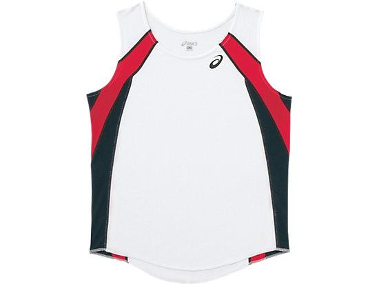 W'Sランニングシャツ, ホワイトxブラック