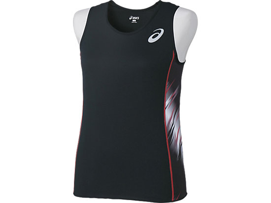 W'S RUNNING SHIRT BLACK