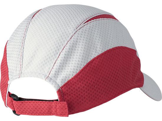 MESH CAP MEDIUM SILVER X RED