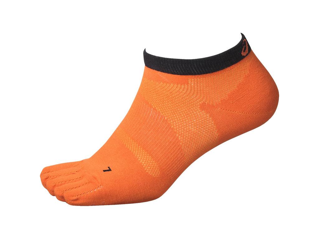 エクスグリップTM5本指ソックス:オレンジ