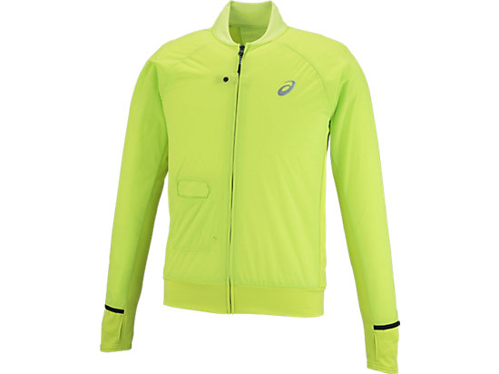MOVING WIND JACKET ENERGY GREEN
