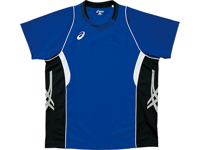 ゲームシャツ ハーフスリーブ, ターキッシュタイル×ブラック