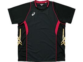 ゲームシャツHS, ブラック×Vレッド