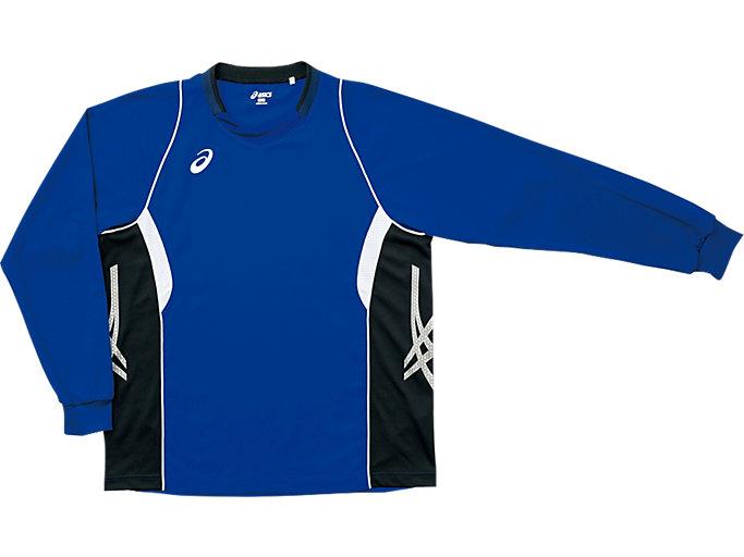 ゲームシャツ ロングスリーブ, ターキッシュタイル×ブラック