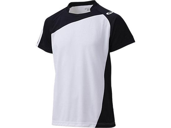 ゲームシャツHS, ホワイトxブラック