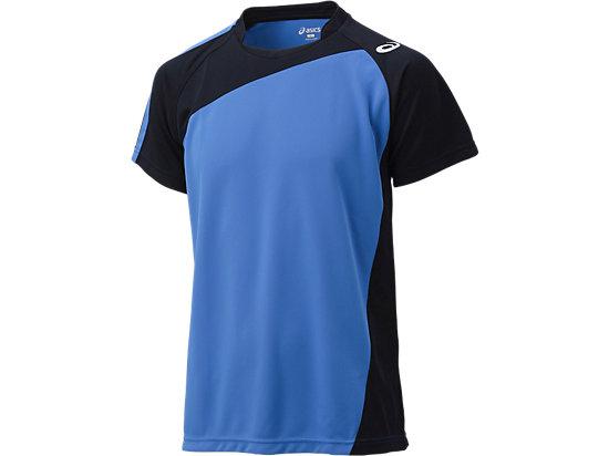 ゲームシャツHS, コバルトブルー×ブラック