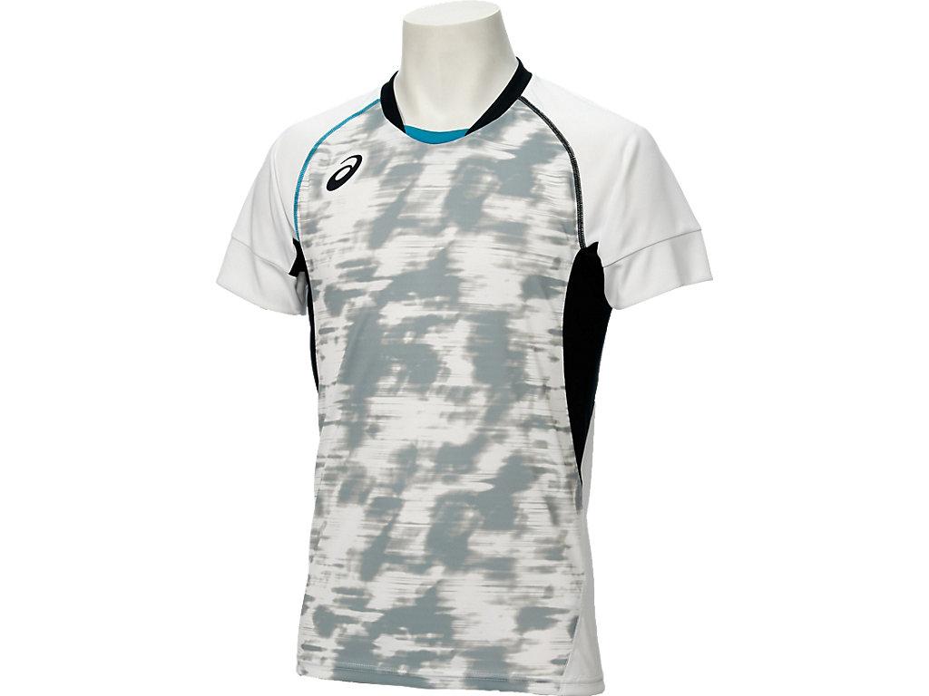 【ASICS/アシックス】 ブレードゲームシャツHS ホワイト_XW6722