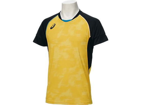 ブレードゲームシャツHS, ブレイジングイエロ-xブラック
