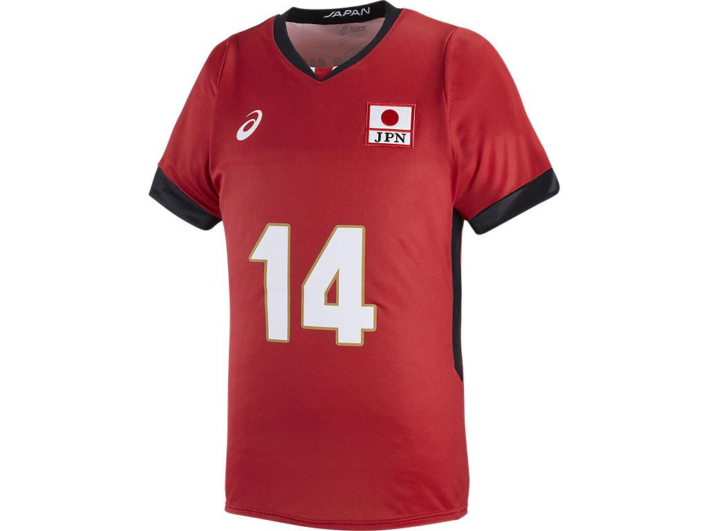 全日本男子オーセンティックHS:14Vレッド(石川選手)