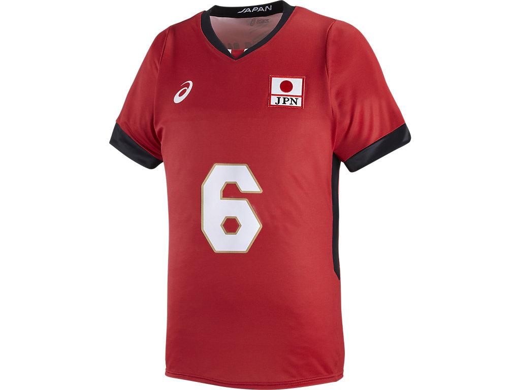 全日本男子オーセンティックHS:6Vレッド(山内選手)