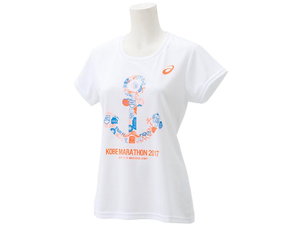 アシックス 神戸マラソン2017 WOMEN'STシャツ XX177X asics