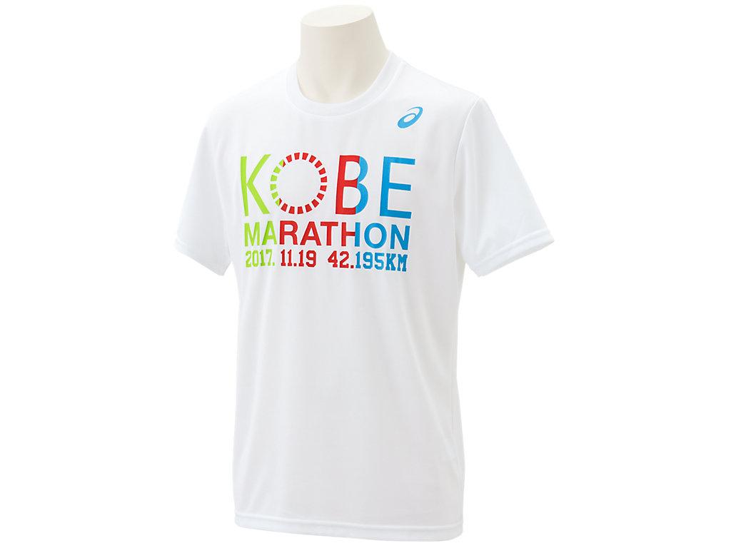 神戸マラソン2017Tシャツ:ホワイトE