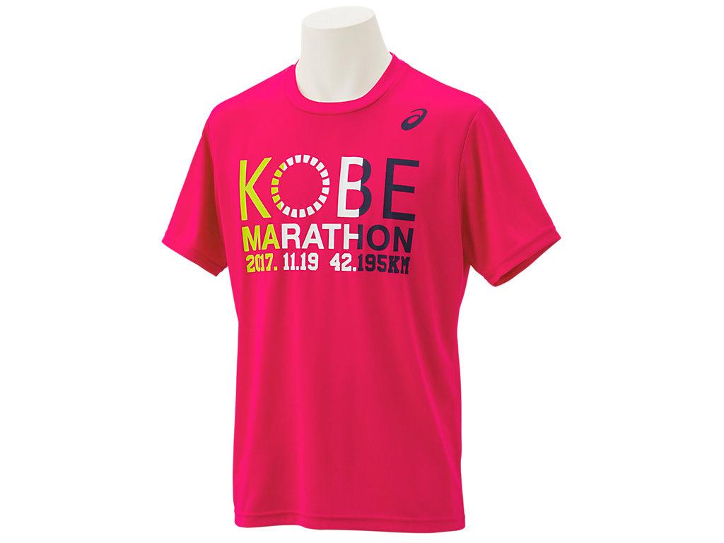 神戸マラソン2017Tシャツ:コスモピンクE