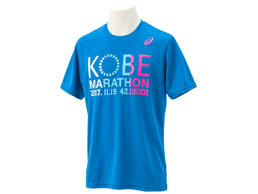 神戸マラソン2017Tシャツ:ディレクトワールブルーE