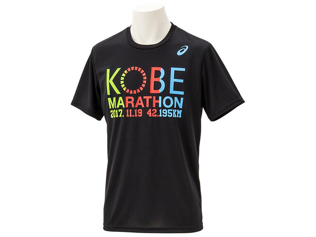 神戸マラソン2017Tシャツ:ブラックE