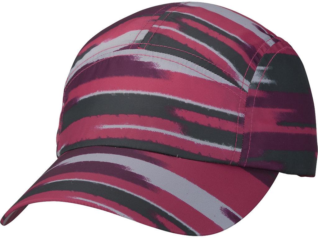 W'Sランニングプリントキャップ:インパルスコスモピンク