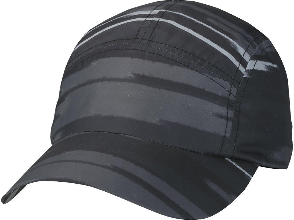 W'Sランニングプリントキャップ:インパルスダークグレー