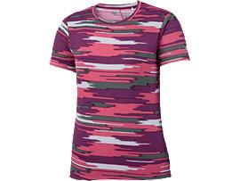 W'SランニングプリントTシャツ