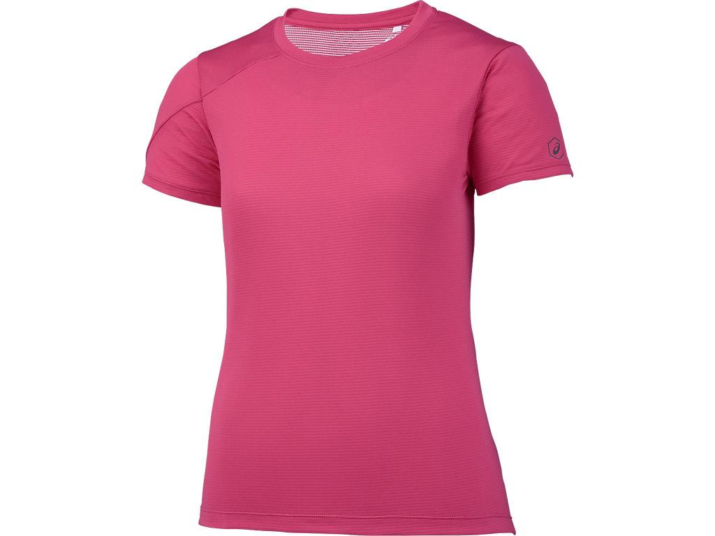 W'SランニングTシャツ:コスモピンク