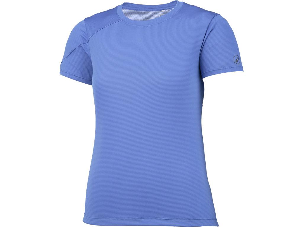 W'SランニングTシャツ:ブルーパープル