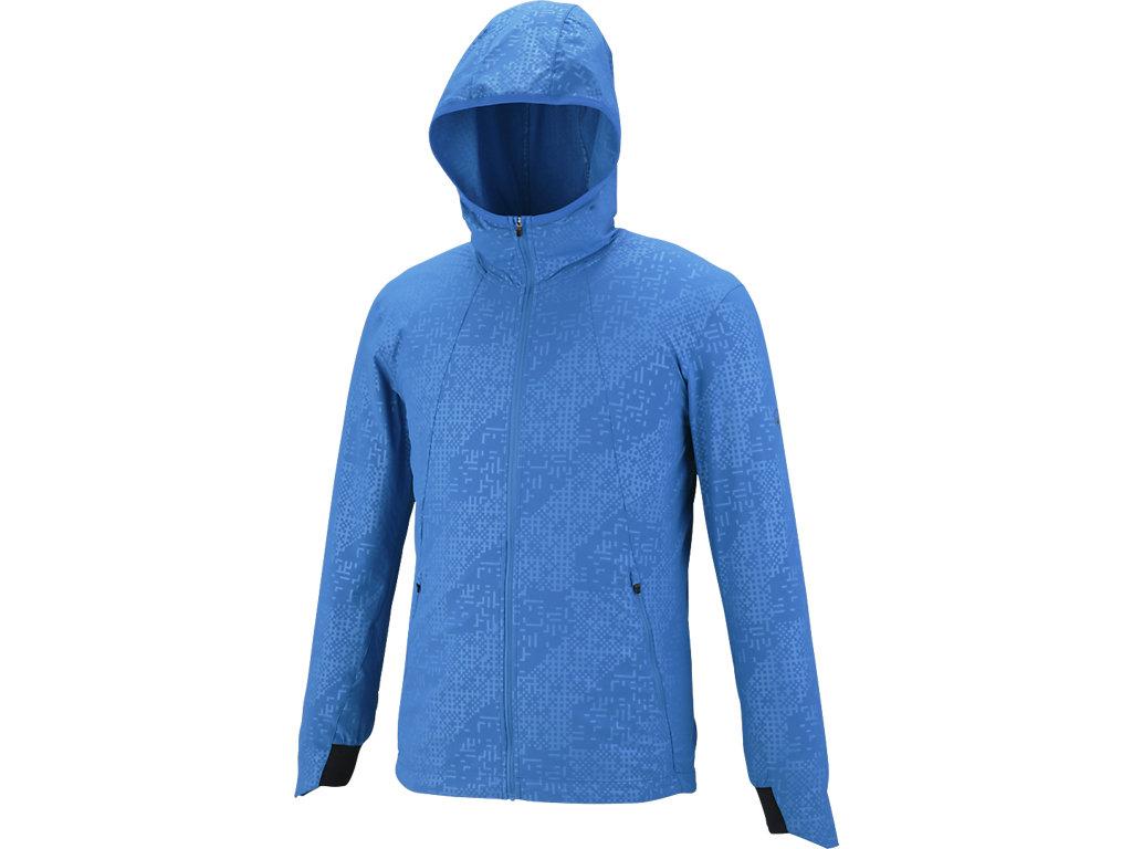 ランニングモーションクロスジャケット:ディレクトワールブルー