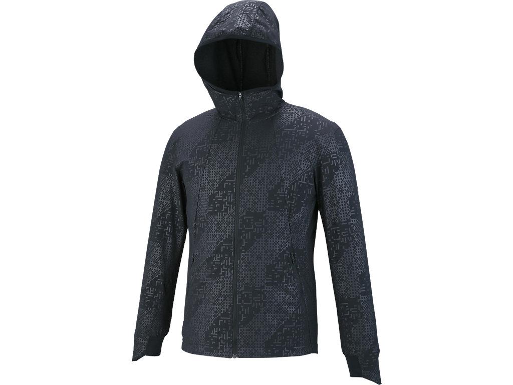 ランニングモーションクロスジャケット:パフォーマンスブラック