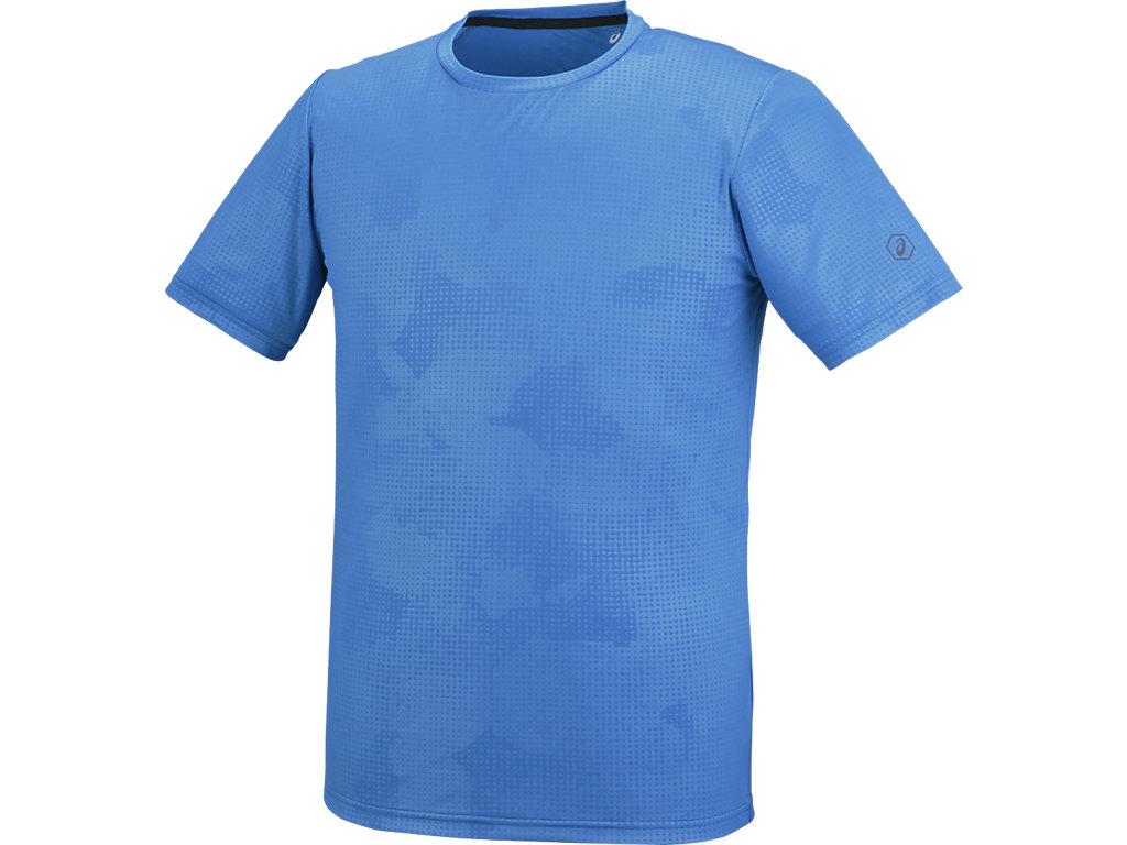 【ASICS/アシックス】 ランニングTシャツ ディレクトワールブルー メンズ_XXR585