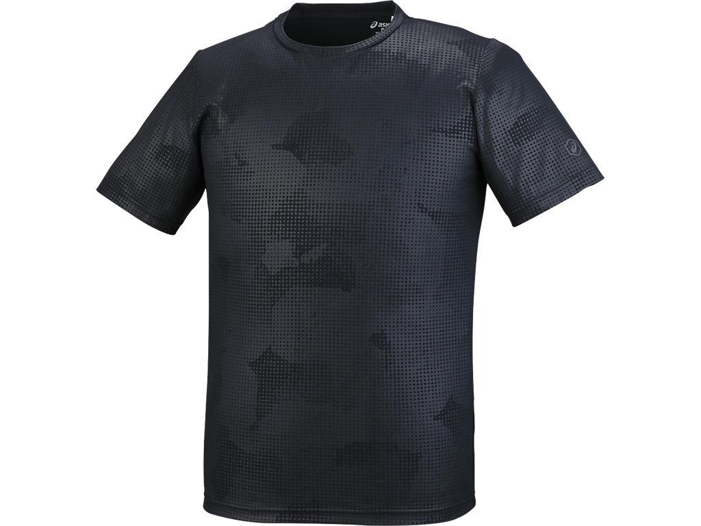 【ASICS/アシックス】 ランニングTシャツ パフォーマンスブラック メンズ_XXR585