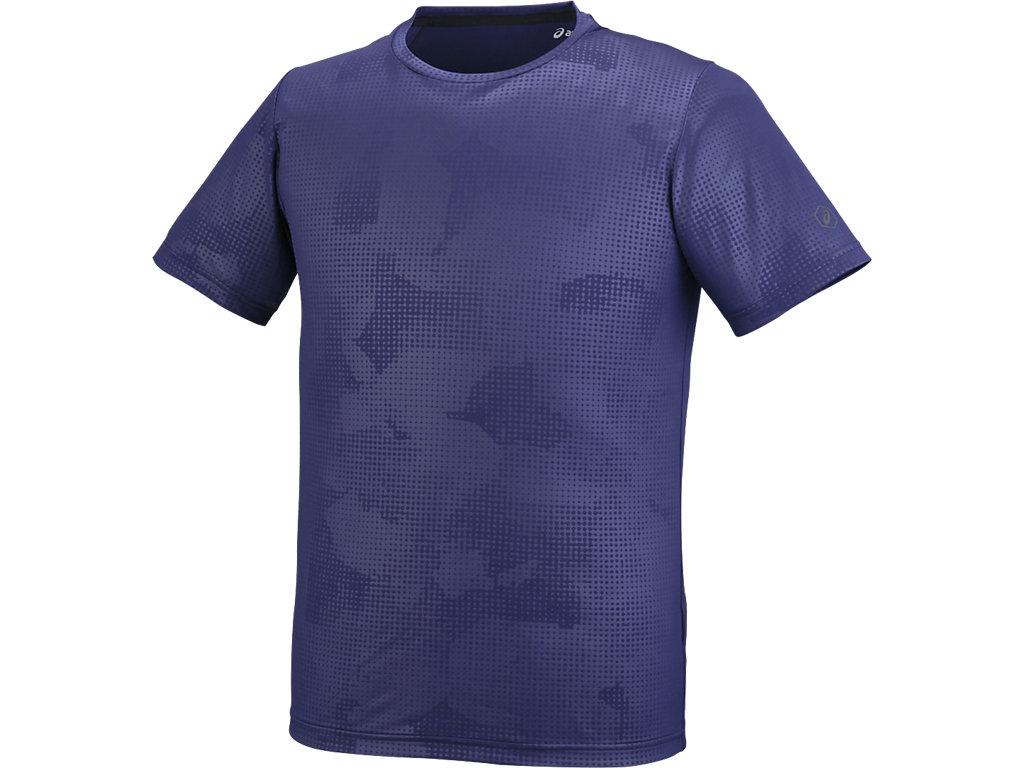 【ASICS/アシックス】 ランニングTシャツ アストラルブルー メンズ_XXR585