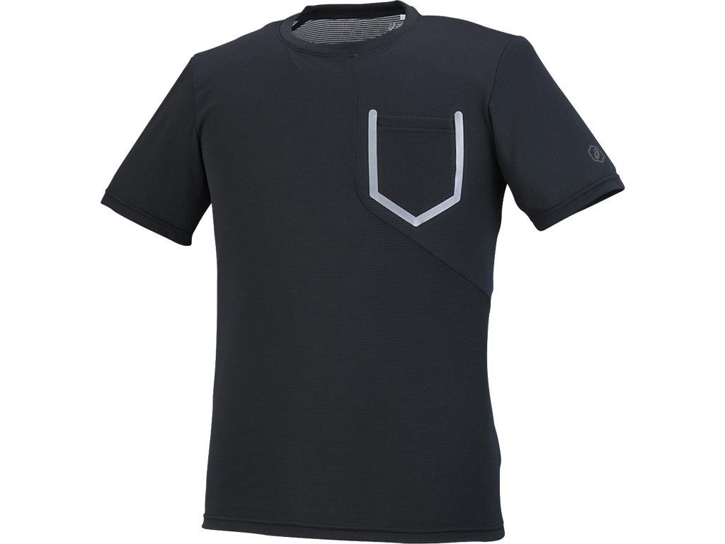 【ASICS/アシックス】 ランニングTシャツ パフォーマンスブラック メンズ_XXR587