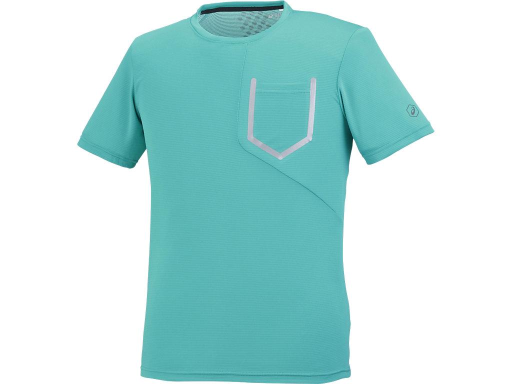 【ASICS/アシックス】 ランニングTシャツ ラピス メンズ_XXR587