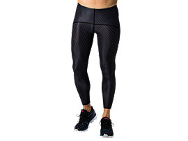 MMS LONG TIGHT2.5, BLACK/BLACK