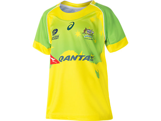 Youths Sevens Replica Main Jersey Yellow 3