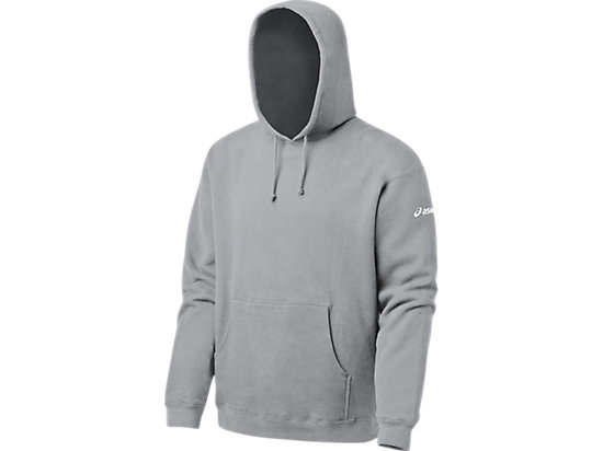 Men's Fleece Hoody Heather Grey 3