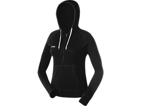 Women's Fleece Hoody Black 3