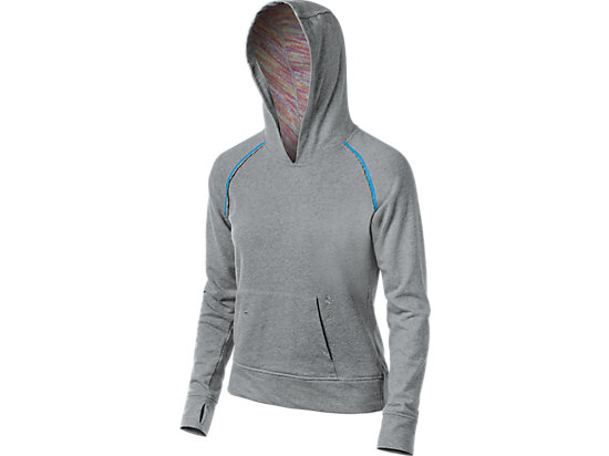 Coral Hoody Heather Grey 3