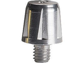 13MM Metal Half Stud (6 Pce)